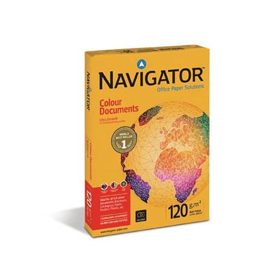 Papel 120gr A4 Navigator (Colour Document)