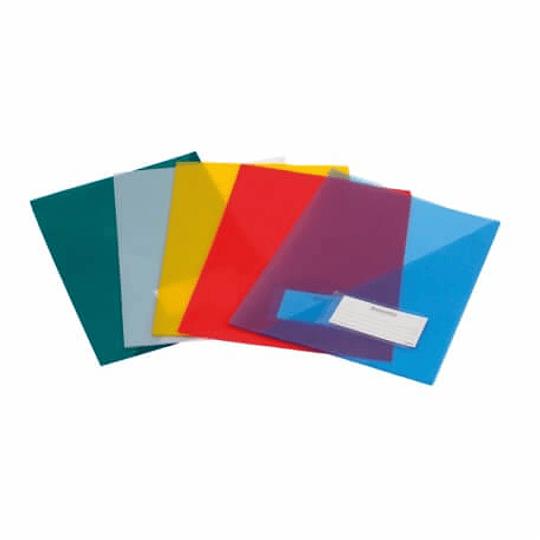 Bolsa Arquivo 21A A4 C/Visor Plástico - Pack 10