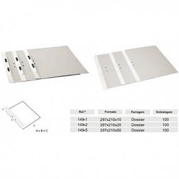 Dossier Lusoplex 400Gr C/Fer.Carr. L3cm (Tribunal) - Pack 50
