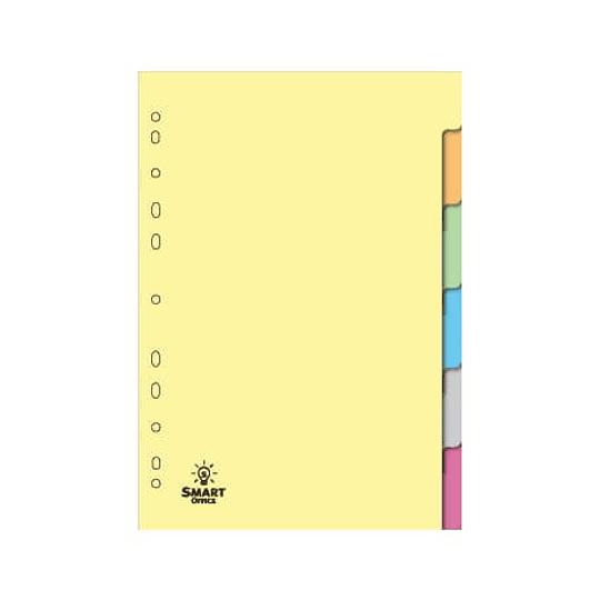 Separadores Cartolina 6uni