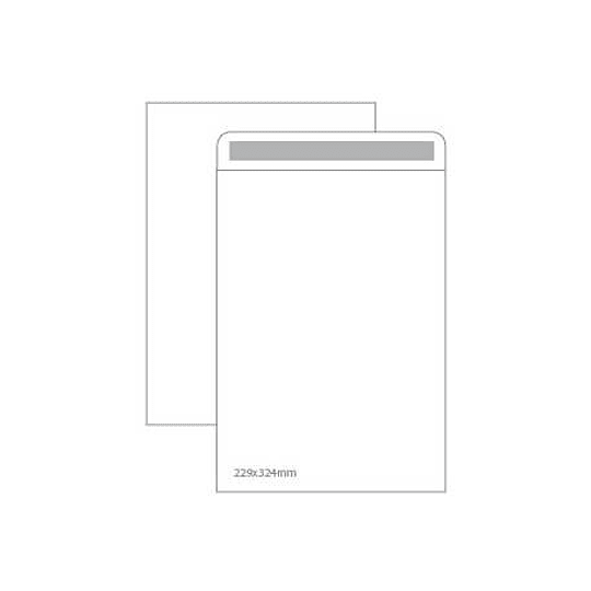 Envelopes Saco Branco 229x324mm - 25uni