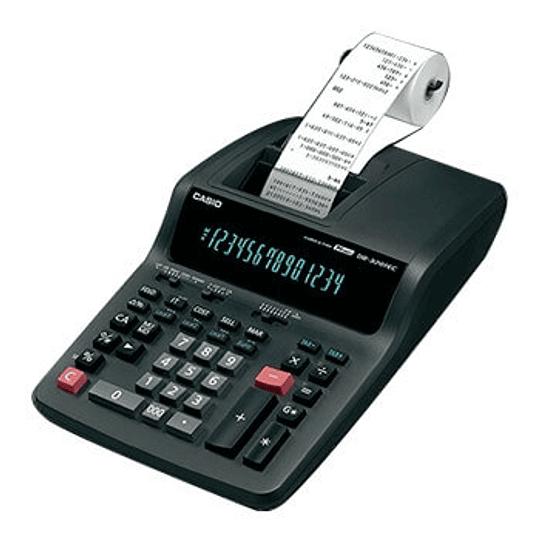 Calculadora de Secretaria Casio CAS-DR320RE 14 Dígitos c/ Fita