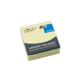 Bloco (Cubo) Adesivo Amarelo 50x50mm 240Fls