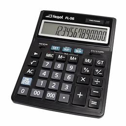 Calculadora de Secretária Fegol FL-56 (16 Dígitos)