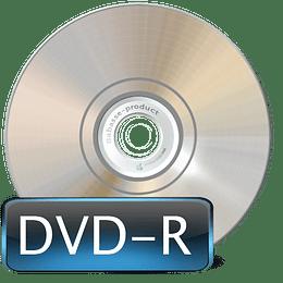 Bobine C/10 DVD-R 4,7GB/120MIN. Intenso 16X