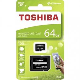 Cartão Memória Toshiba Micro SD 64GB