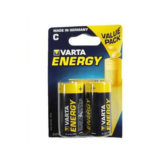 Pilhas Alcalinas Varta Energy LR14 (C) 1.5V 7000mAh 2un