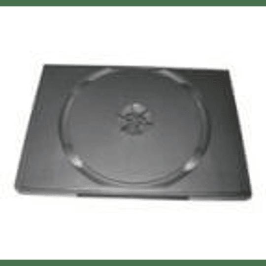 Caixa CD/DVD Mediarange Slim 7mm Pocket Size - Pack 10