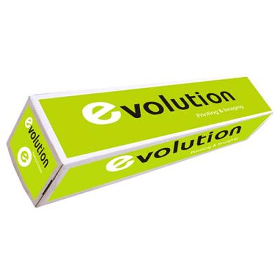 Papel Plotter 80gr 610mmx50mts Evolution (Pack 4 Rolos)