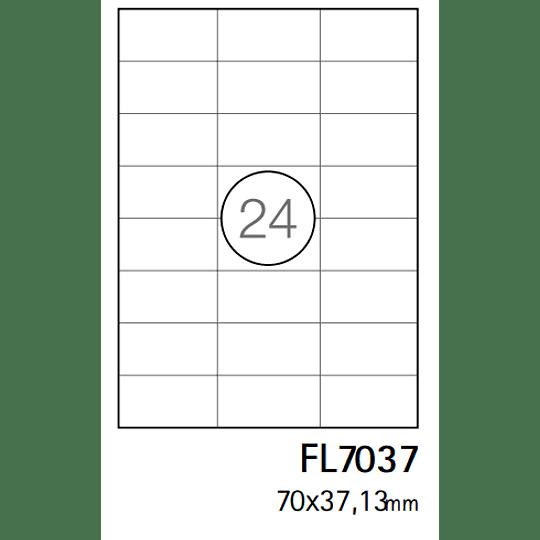Etiquetas A4 70x37,1mm branca (CX.100F)