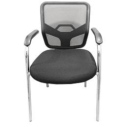 Cadeira conferencia fixa D150 preta