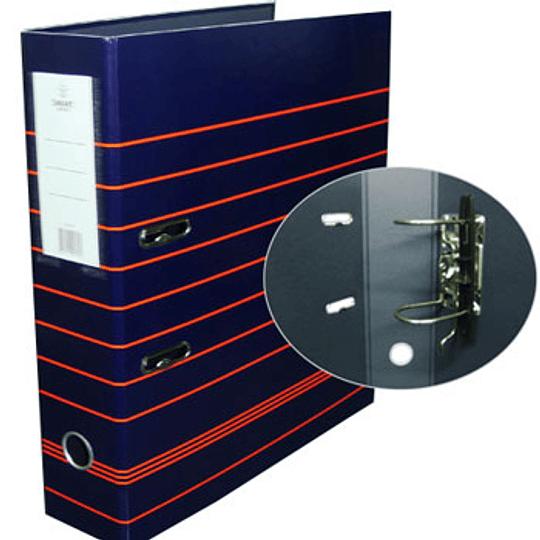 Pasta Arquivo A4 L80 com riscas- PACK 10 uni