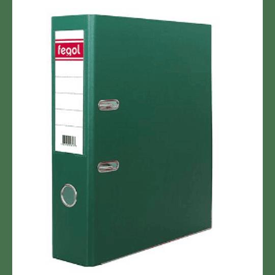 Pasta arquivo PP A4 L80 verde (PVC) - 1uni