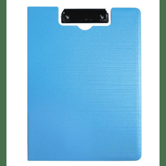 Capa bloco A4 c/mola (preta e azul)