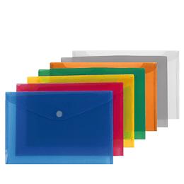 Bolsa arquivo tipo envelope A4 c/mola- pack 12