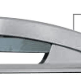 Agrafador secretária 597 24/6- 26/6 metal color (20folhas)