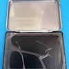 Almofada para carimbo nº2 (12x8cm) azul e preta