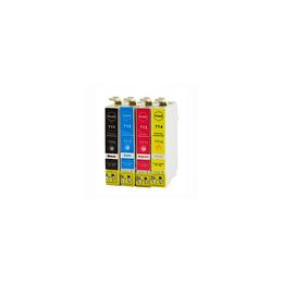 Tinteiro Epson Compatível T0711 / T0712 / T0713 / T0714 / T0891 / T0892 / T0893 / T0894