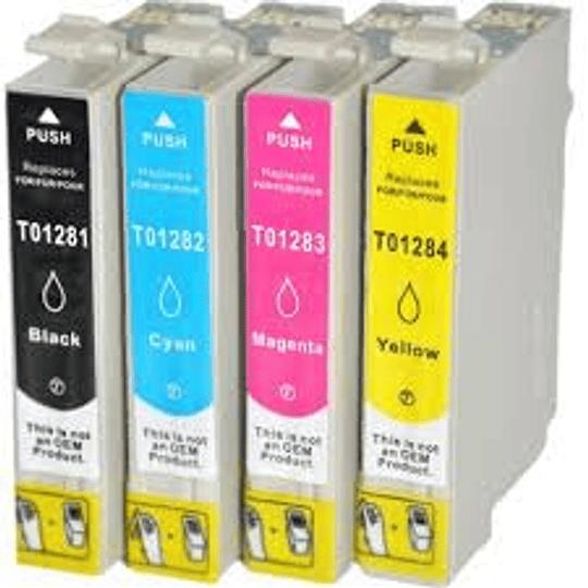Tinteiros Compatíveis Epson T1281/2/3/4
