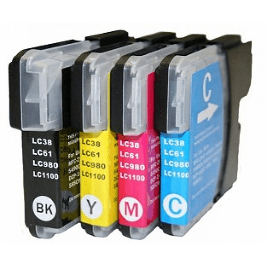 Tinteiros Compatíveis Brother LC980 / LC985 / LC1100