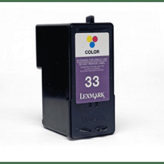 Tinteiro Comp. Lexmark nº 32 / nº 33 XL