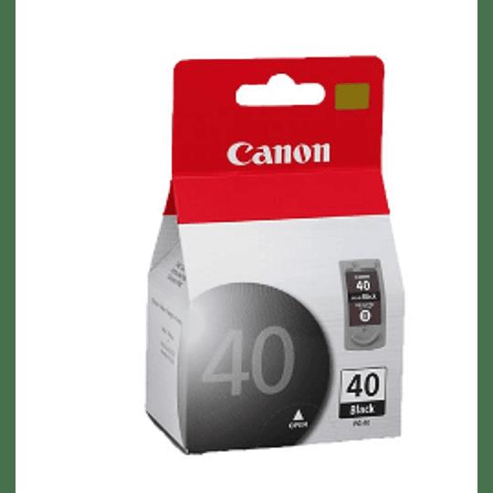 Tinteiro Original Canon PG-40 Preto