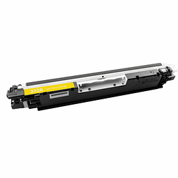 Toner HP 126A Compatível Amarelo (CE312A)