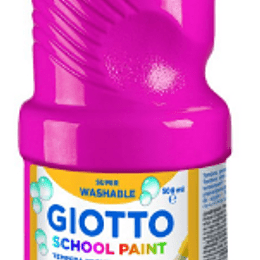Guache giotto tempera escolar (500ml)