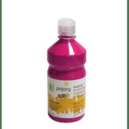 Tinta Acrilica Kids, várias cores (Boião 500ml)