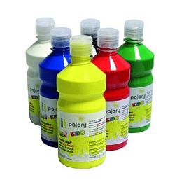 Tinta p/dedos Kids, várias cores (Boião 500ml)