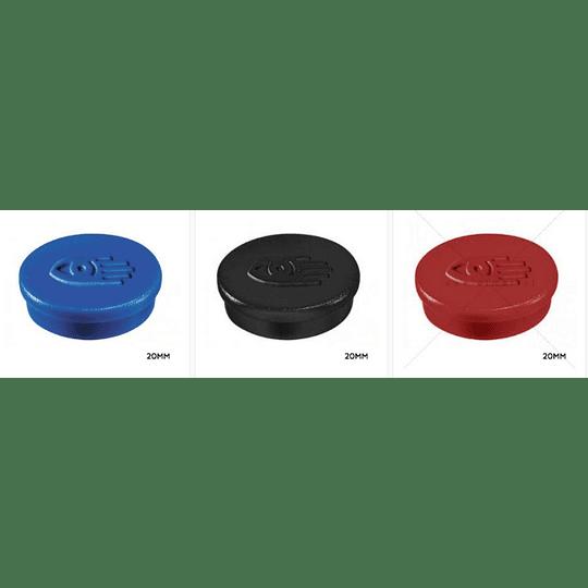 Botão Magnético lega master 20mm (6 cores)