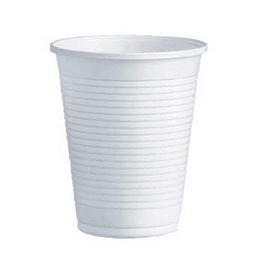 Copos Plastico Branco (Agua/ Cha) 200ml-(Pack100)