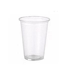 Copos Plastico PP Transparente (Agua/ Cha) 330ml-(Pack50)