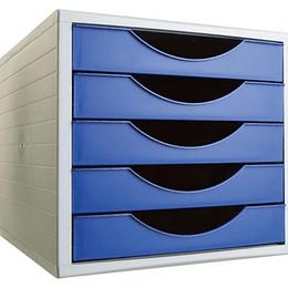 Tabuleiro 5 Gavetas cor azul