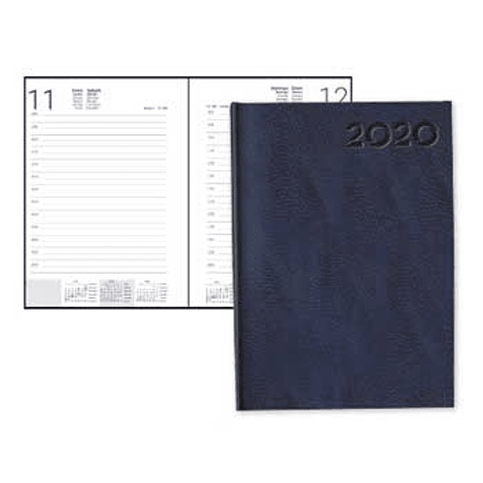 Agenda Diária 2020 A5 (15cmX21cm)