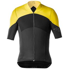 Tricota Mavic Cosmic Ultimate SL Jersey Black/Yellow