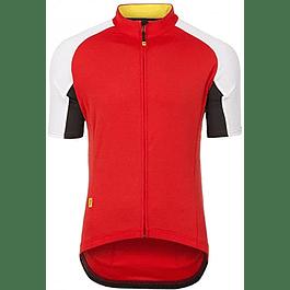 Tricota Mavic Hombre Espoir Pro Jersey Roja (M)