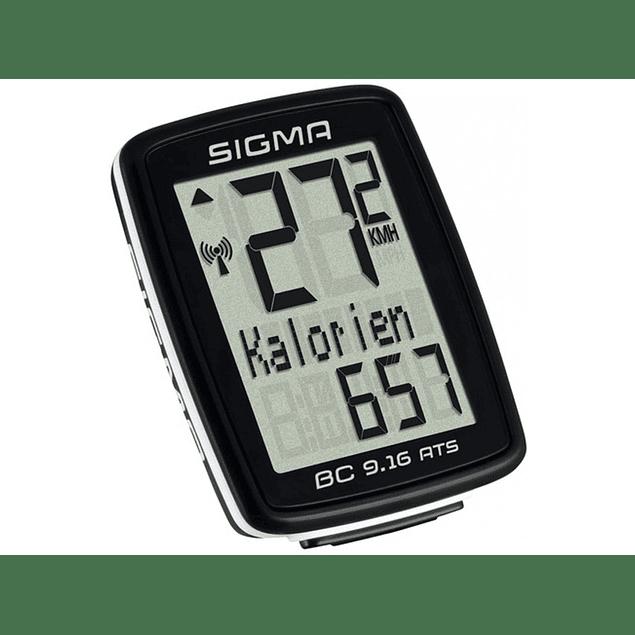 Ciclocomputador Sigma 9.16 ATS