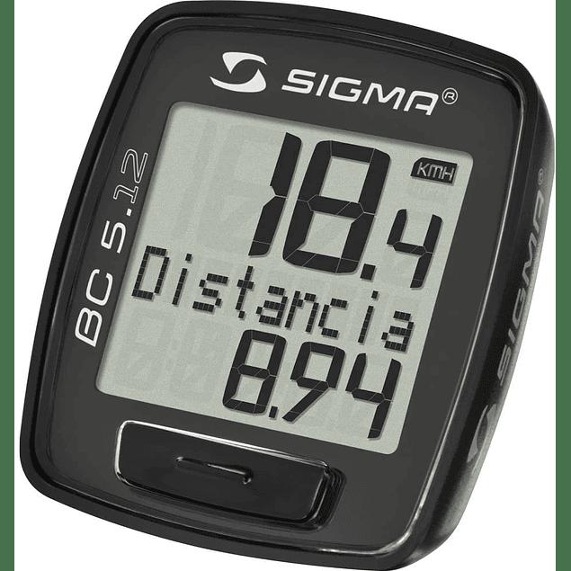 Ciclocomputador Sigma 5.12