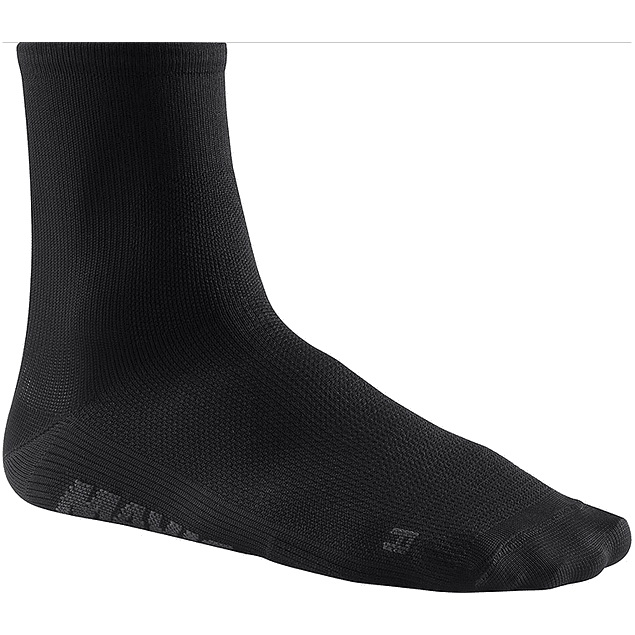Essential Mid Sock Negro