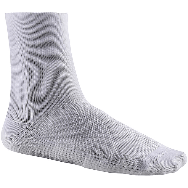 Essential Mid Sock Blanco
