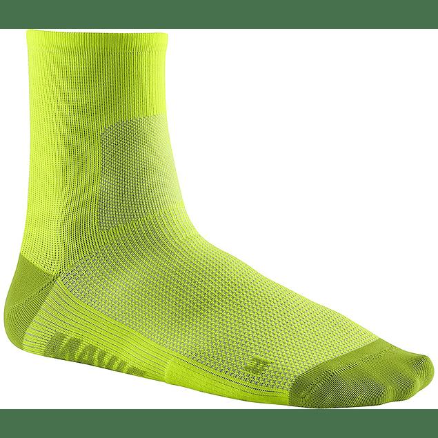 Essential Mid Sock Fluor