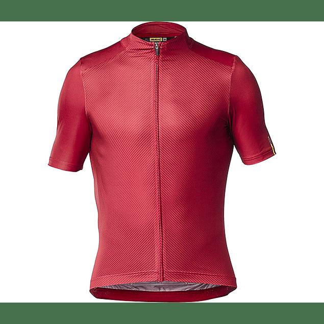 Tricota Mavic Cosmic Pro Graphic Jersey Roja