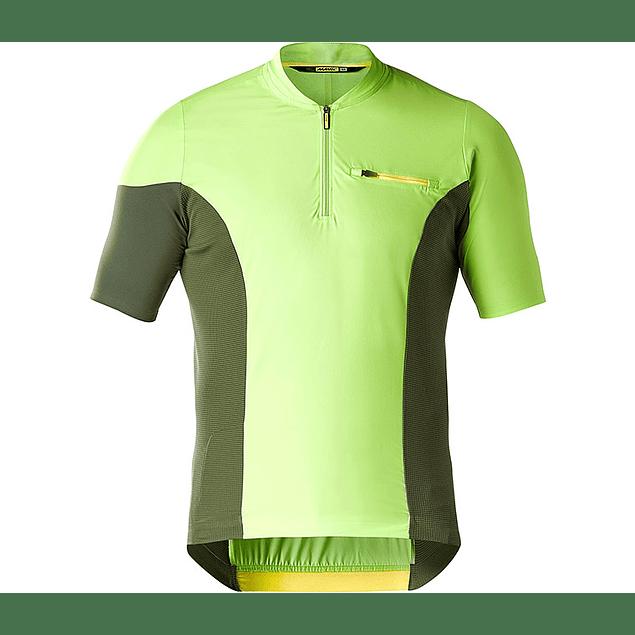 Tricota Mavic XA PRO Jersey Lime Green