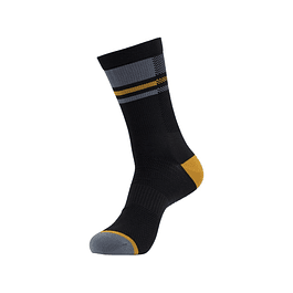 Crankbrothers Icon mtb sock Negro Amarillo