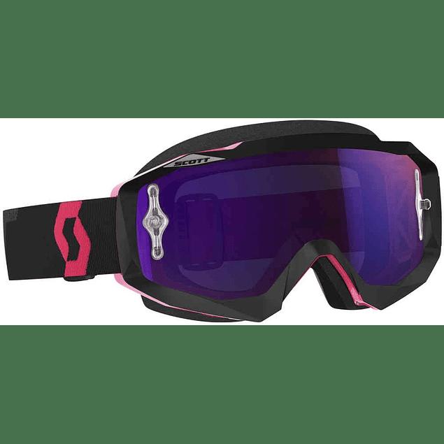 Antiparras Scott Hustle MX Black Pink Mica Violet