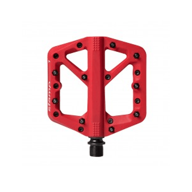 PEDALES CRANKBROTHERS STAMP 1 ROJO SMALL