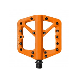 PEDALES CRANKBROTHERS STAMP 1 ORANGE SMALL