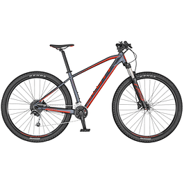 ASPECT 940 DK. GREY / RED  2020
