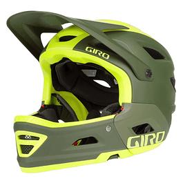 Casco Integral Giro Switchblade Mips Citron Olive Matte